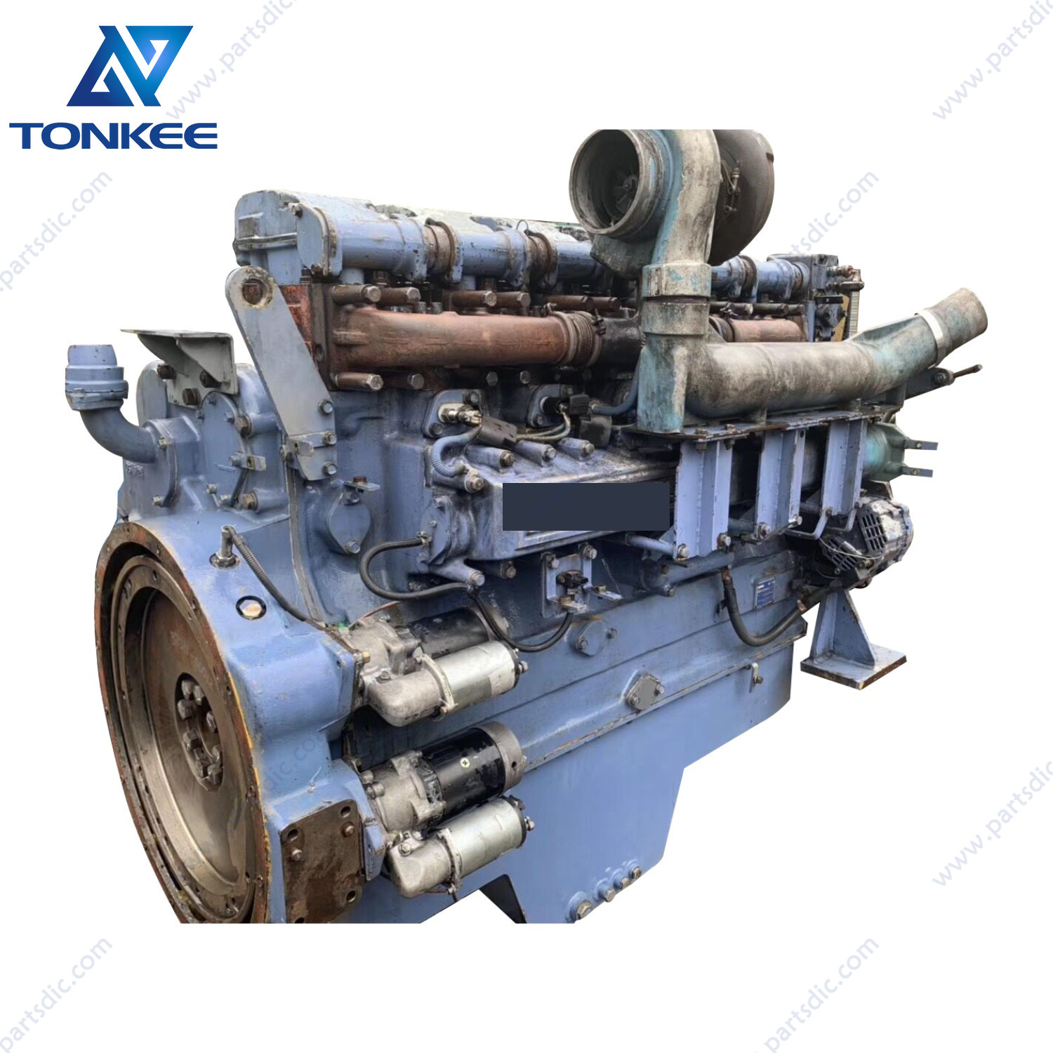 S6R-Y2TAA-2 S6R diesel engine assy EX1200-5 EX1200 complete diesel engine assy suitable for HITACHI