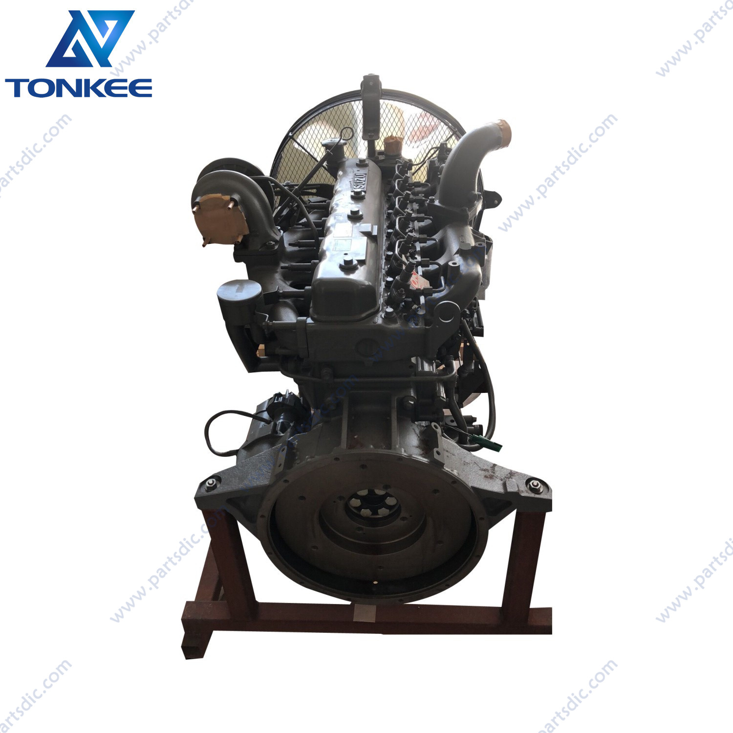 construction machinery parts EX200-2 EX200-3 EX200-5 ZX200LC ZX200-3G excavator diesel engine assembly 4489383 6BD1 AA-6BG1 TRA complete diesel engine assy