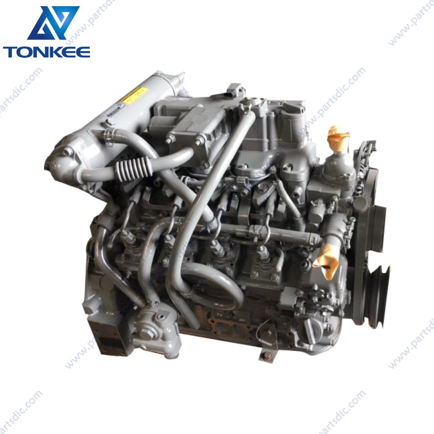 heavy equipment parts 4LE2 GK-4LE2XKSC AU-4LE2XYSS complete diesel engine assy CX75 CX80 ZX75 ZX80 SK75 excavator diesel engine assembly for excavator