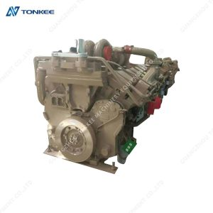 genuine new PC3000 PC3000-6 diesel engine assembly KTA38 KTA-38 complete engine assy excavator for KOMATSU excavator