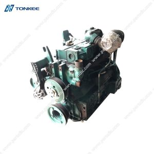genuine used VOE14521398 D4D ECE2 complete engine assy EC140 EC140B excavator engine assy for VOLVO