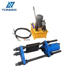 150T electric Hand power hydraulic track pin press & master pin press 150 Ton pressure Electrical portable pin press