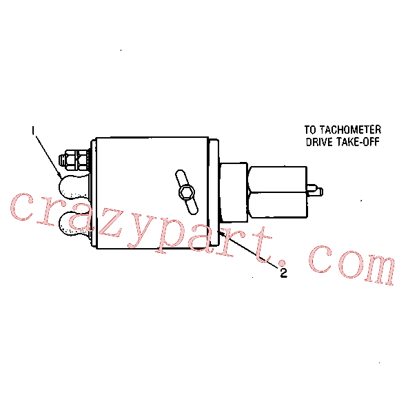 CAT 5M-1822 for 951 Ripper(TTL) starting and electrical system 7L-7367 Assembly
