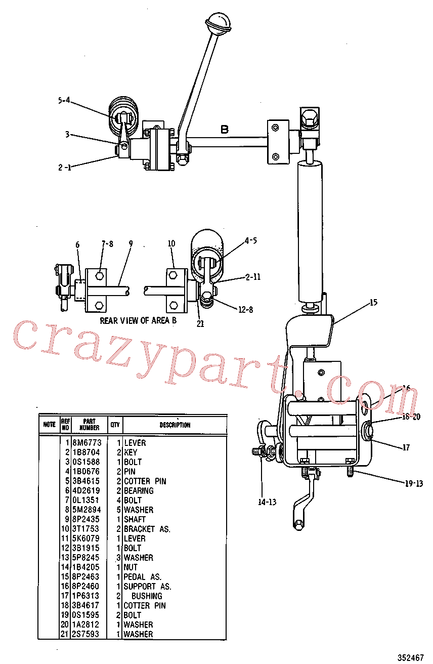 CAT 9S-8752 for 390F L Excavator(EXC) fuel system and governor 8P-2457 Assembly