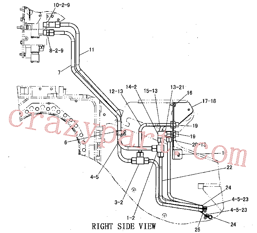 CAT 6V-9839 for 336F LNXE Excavator(EXC) hydraulic system 220-0896 Assembly