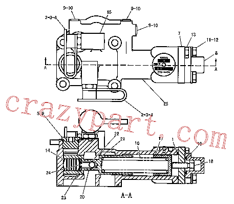 CAT 321-8641 for 336E Mobile Hyd Power Unit(EXC) power train 223-4434 Assembly