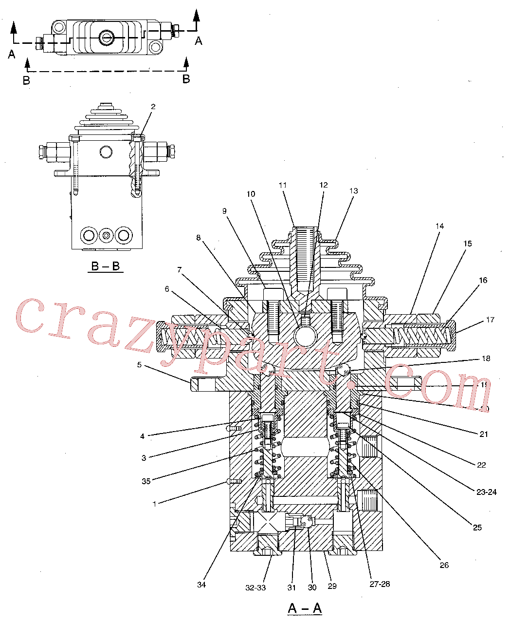 CAT 9X-2537 for CP-64 Vibratory Compactor(COMP) hydraulic system 190-7695 Assembly