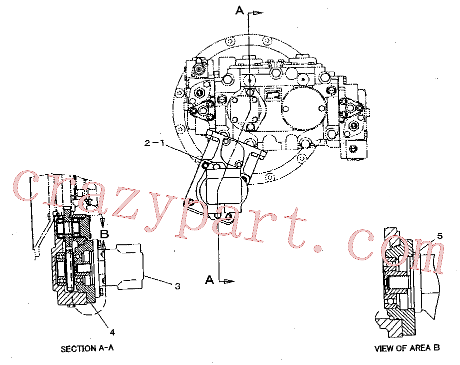 CAT 224-1685 for 320D LRR Excavator(EXC) hydraulic system 224-1687 Assembly