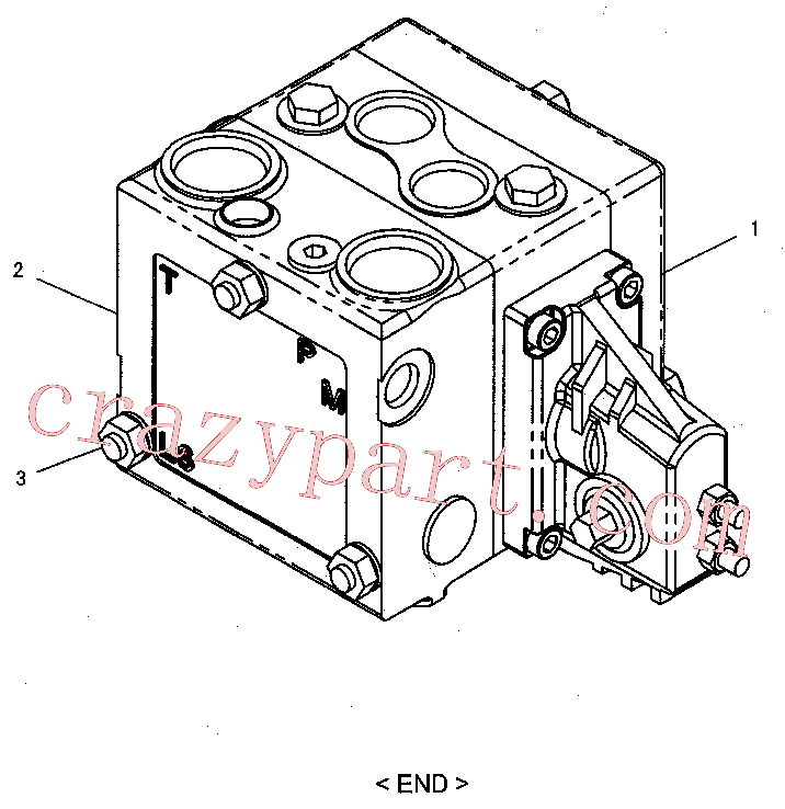 CAT 170-0848 for 324D L Excavator(EXC) hydraulic system 288-7620 Assembly