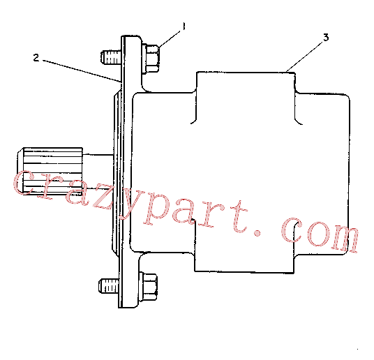 CAT 3G-9938 for 225 Excavator(EXC) hydraulic system 6C-1489 Assembly