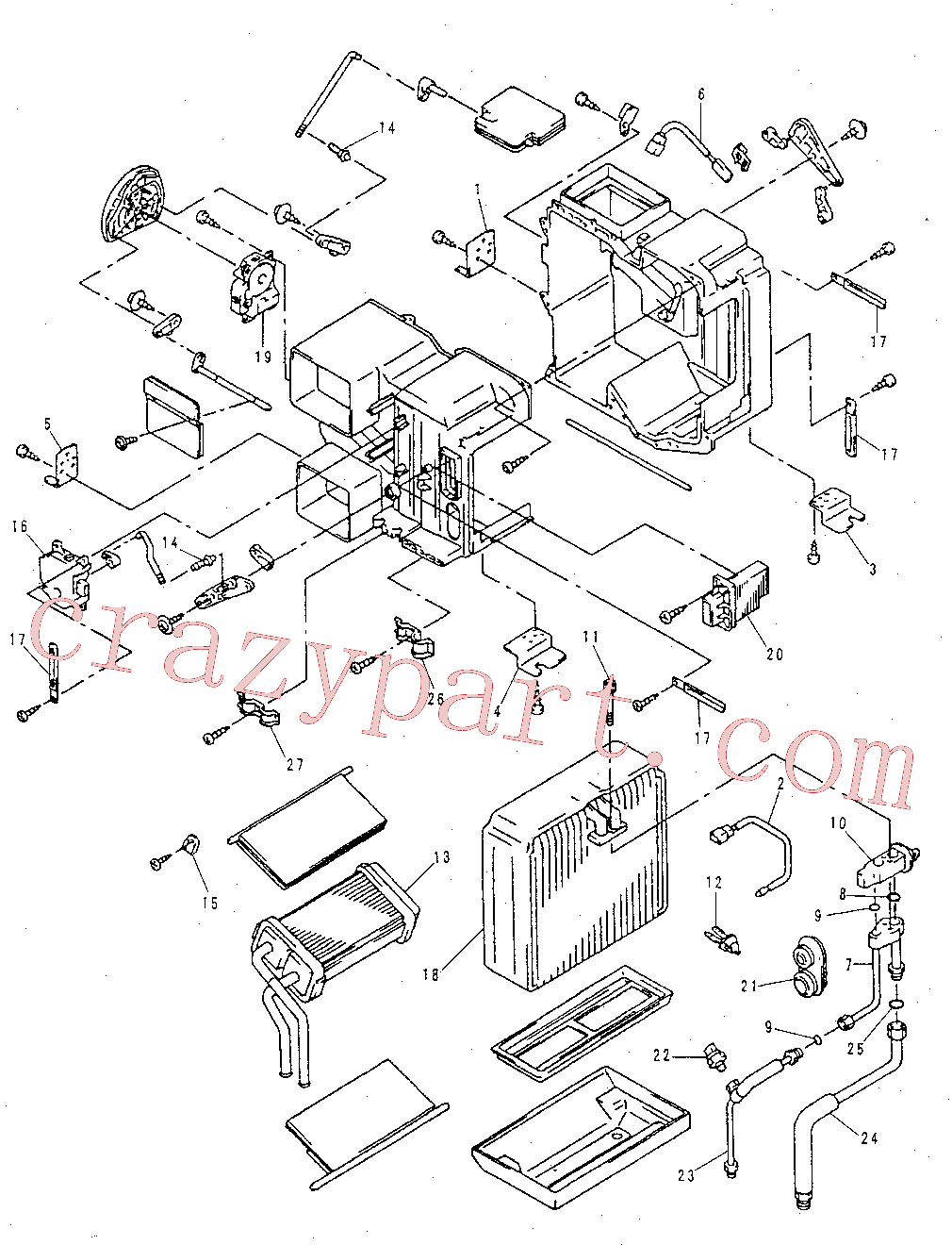 CAT 8T-9534 for TH35-C11I Petroleum Package(PETR) operator station 147-4811 Assembly