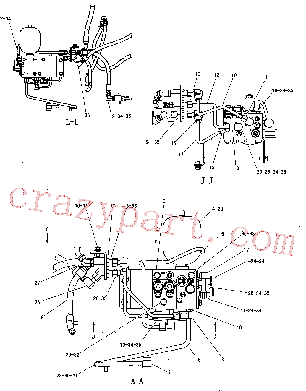 CAT 7W-7381 for CS-56 Vibratory Compactor(COMP) power train 260-8836 Assembly