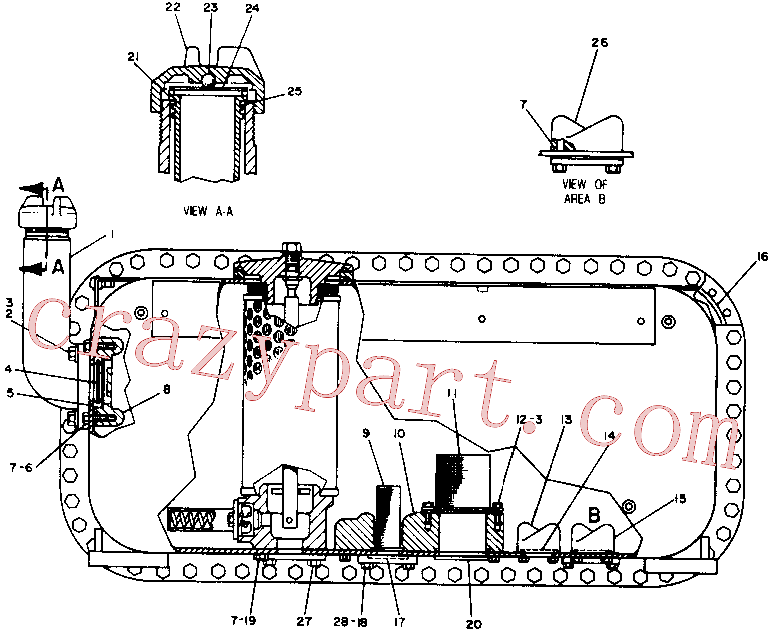CAT 9H-7759 for G916 Wheel Loader(WTL) hydraulic system 4T-0489 Assembly