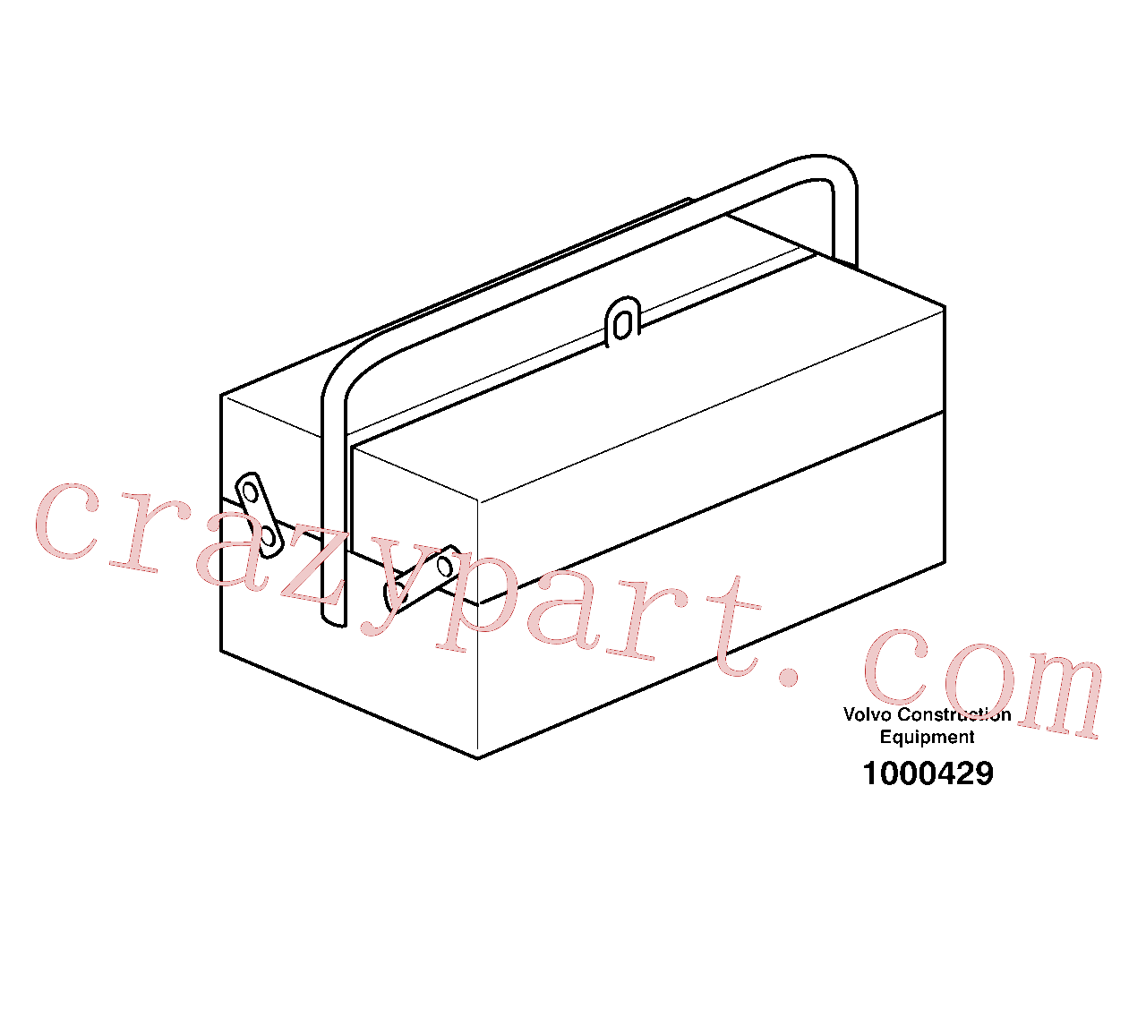 VOE14013364 for Volvo Tool kit(1000429 assembly)