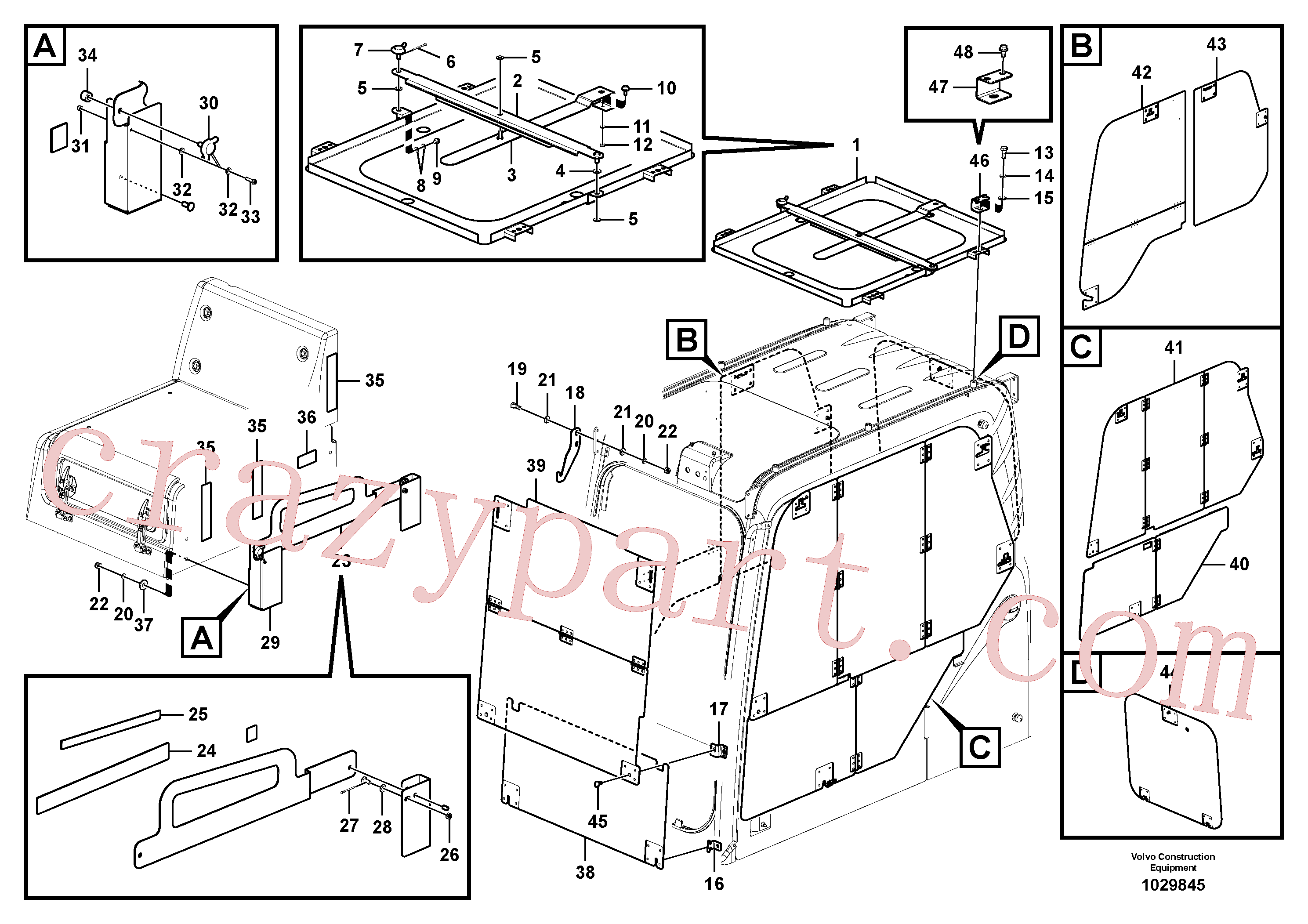 VOE14514219 for Volvo Antitheft system(1029845 assembly)