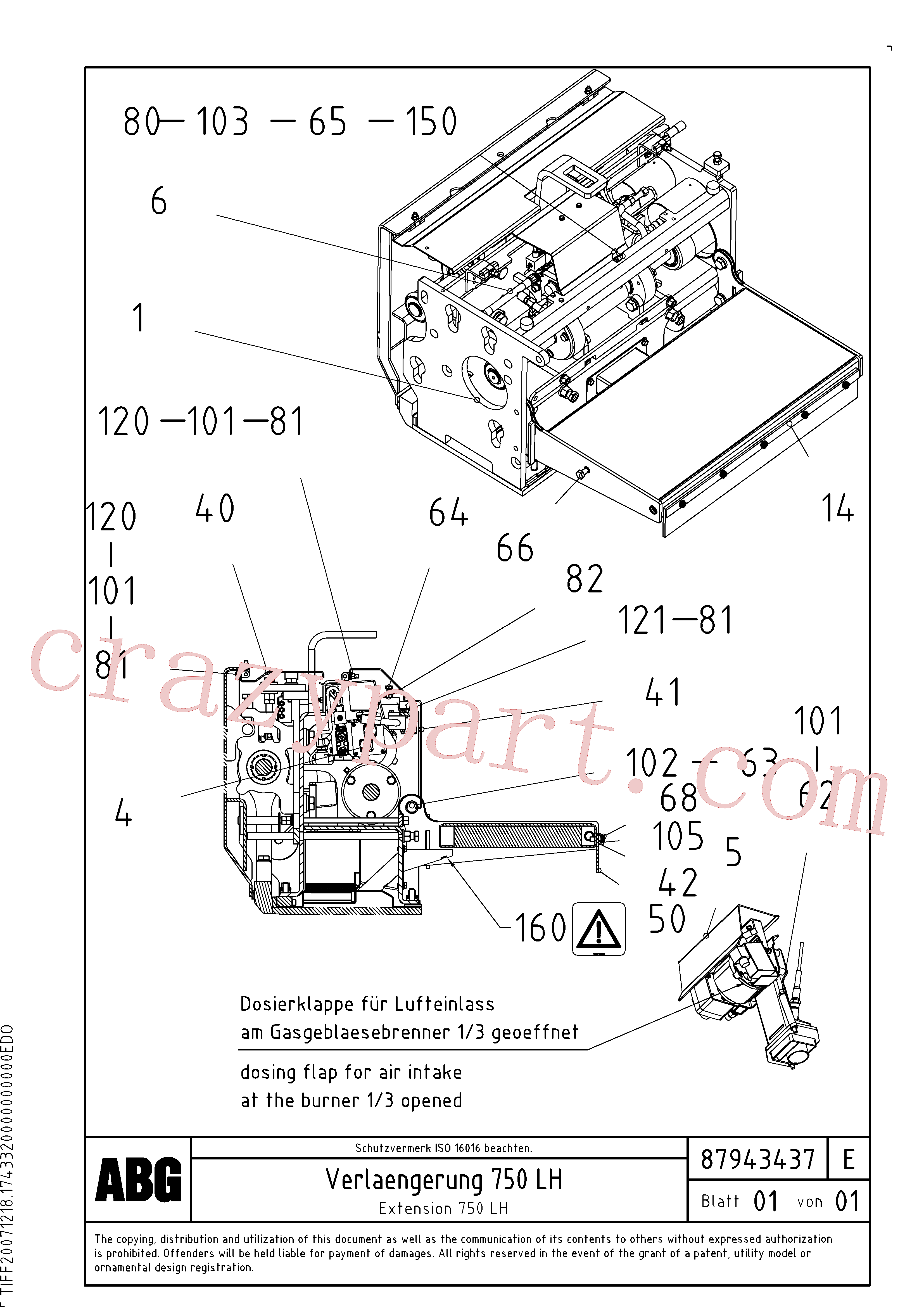 RM80765134 for Volvo Extension set(1047981 assembly)