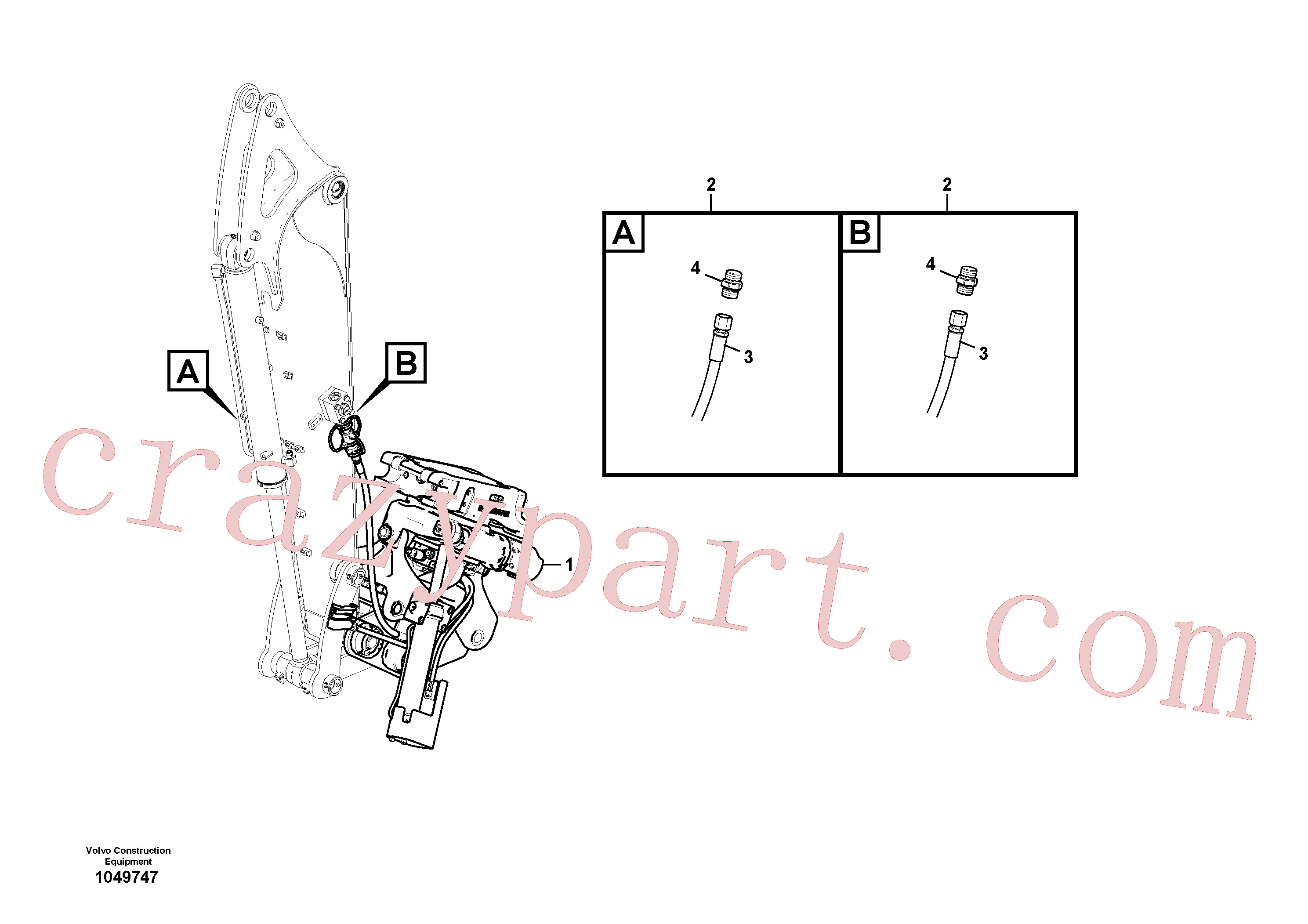 RM59922518 for Volvo Rotator(1049747 assembly)