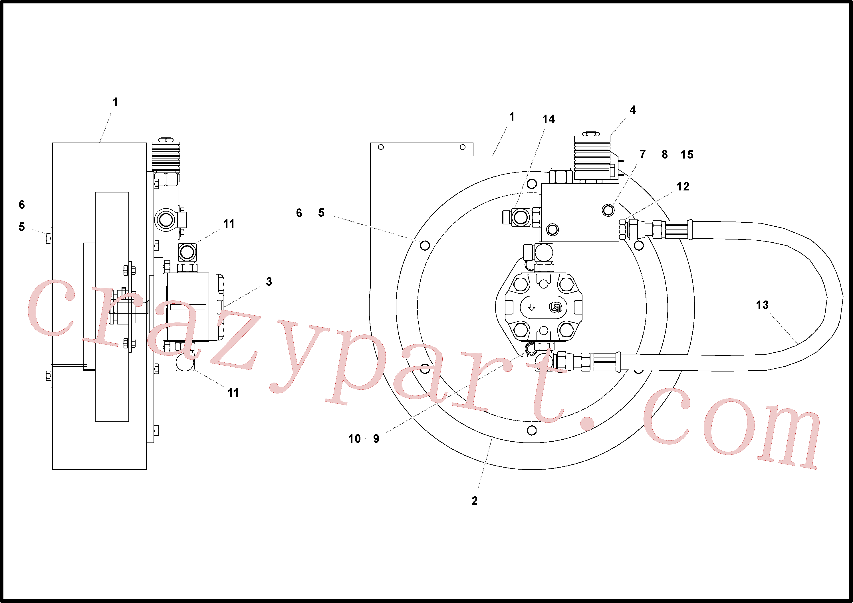 RM20928784 for Volvo Fan Assembly(1053353 assembly)