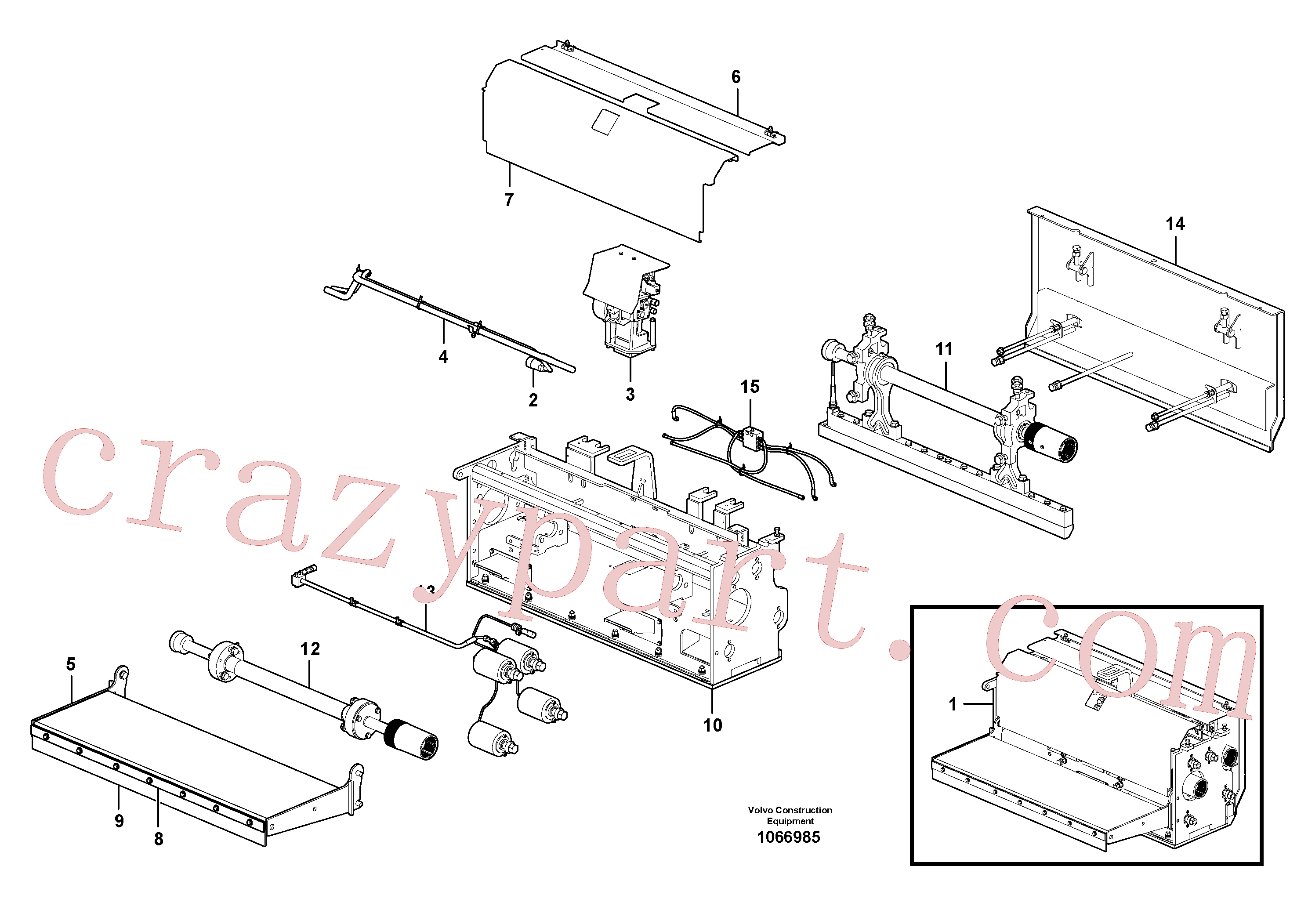 RM80765134 for Volvo Extension(1066985 assembly)