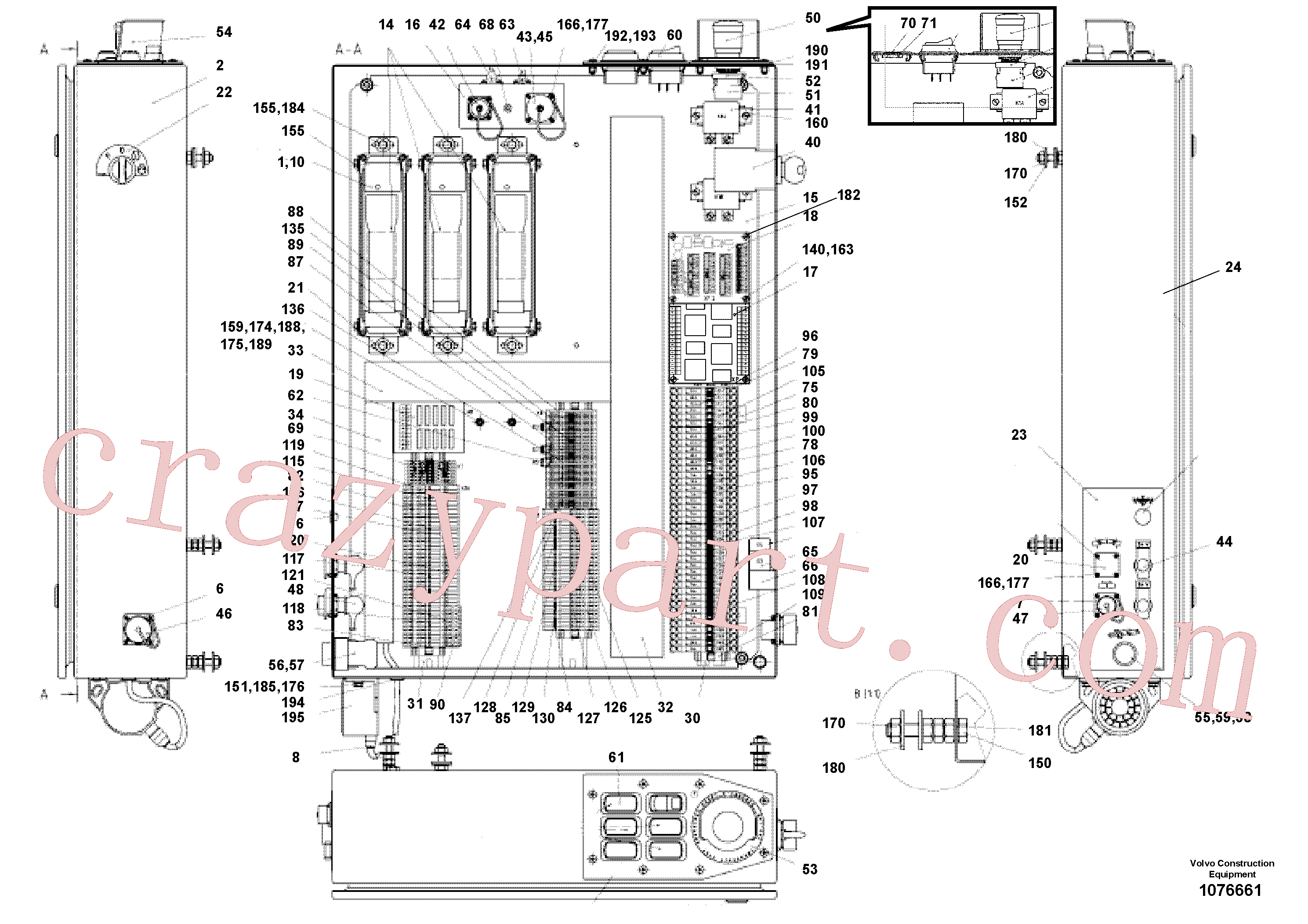 RM14106892 for Volvo main distributor(1076661 assembly)