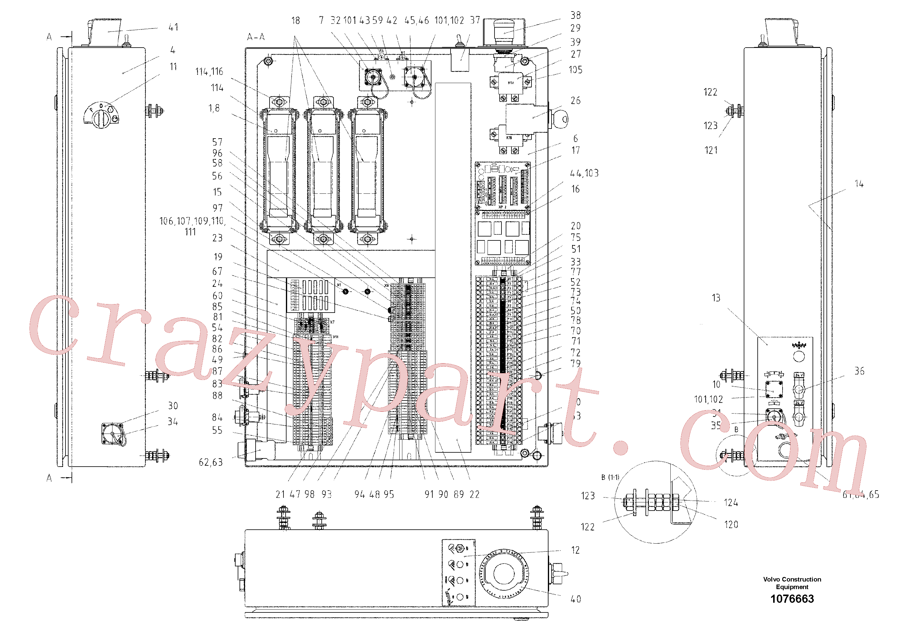 RM96712773 for Volvo main distributor(1076663 assembly)