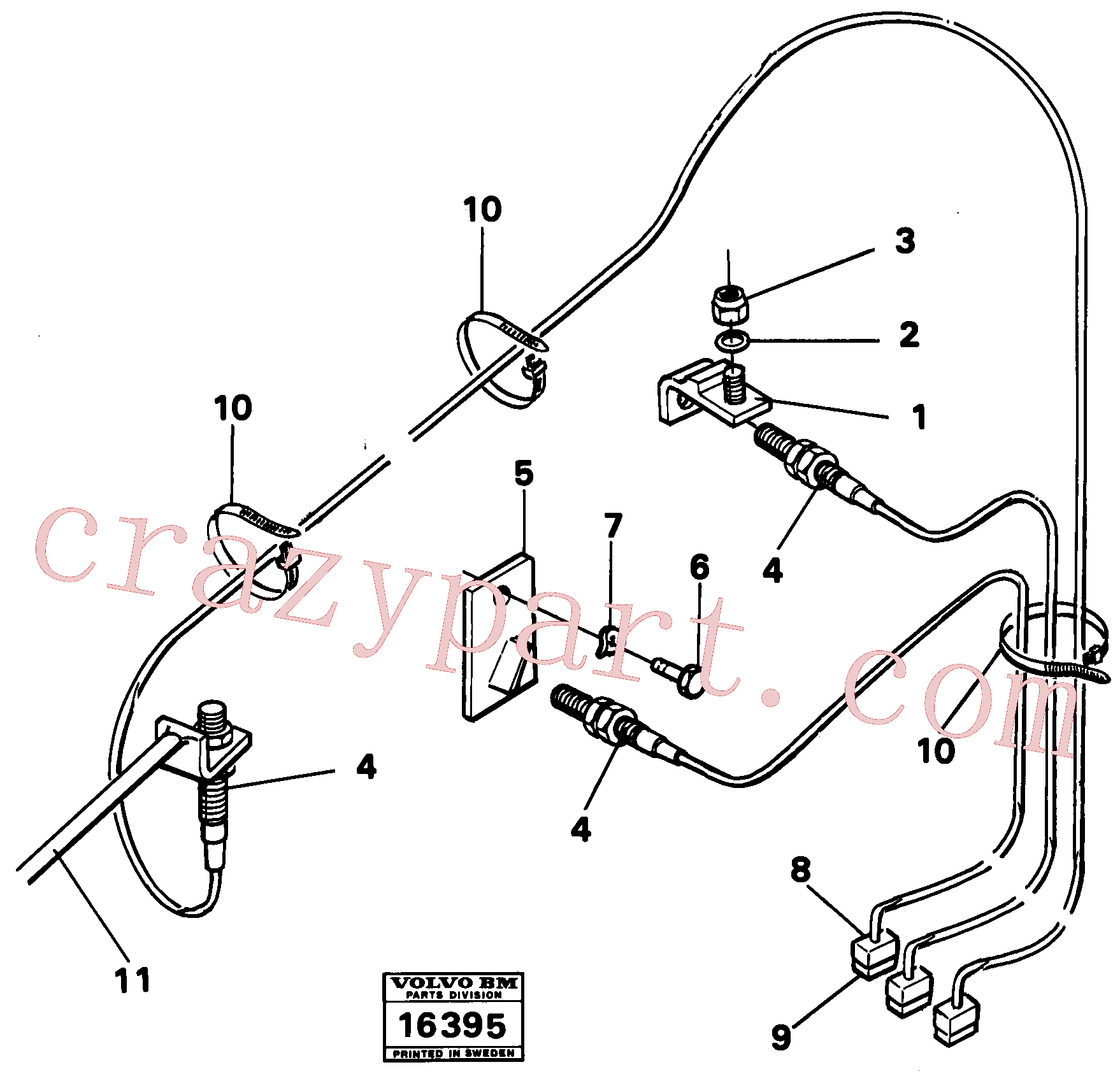 VOE965824 for Volvo Bucket automatic and lift automatic(16395 assembly)