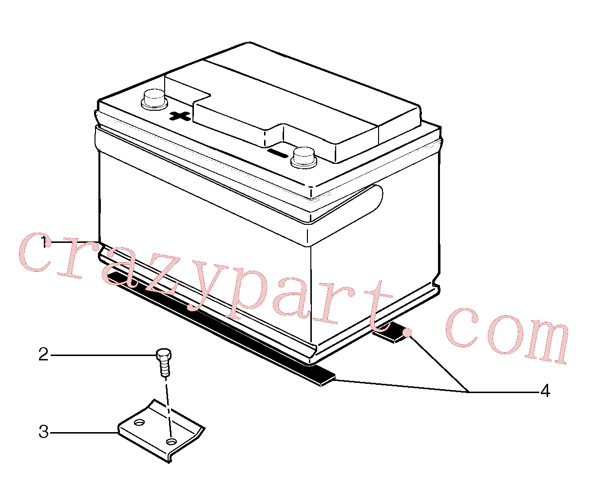 VOE11807776 for Volvo Battery(311Z1 assembly)