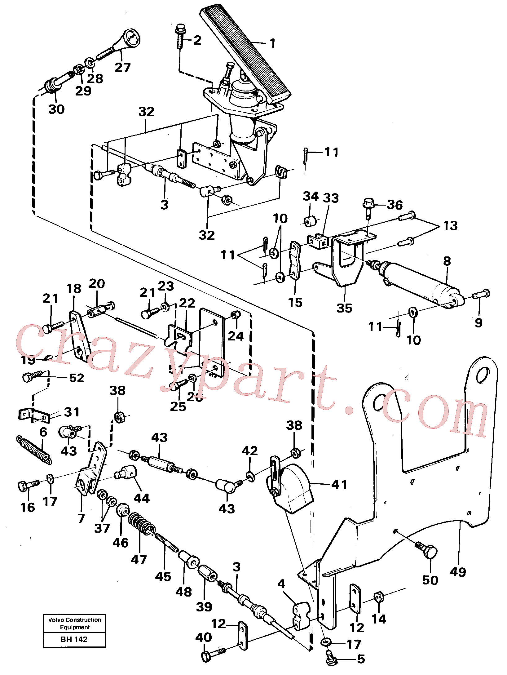 VOE13940090 for Volvo Regulator control(BH142 assembly)