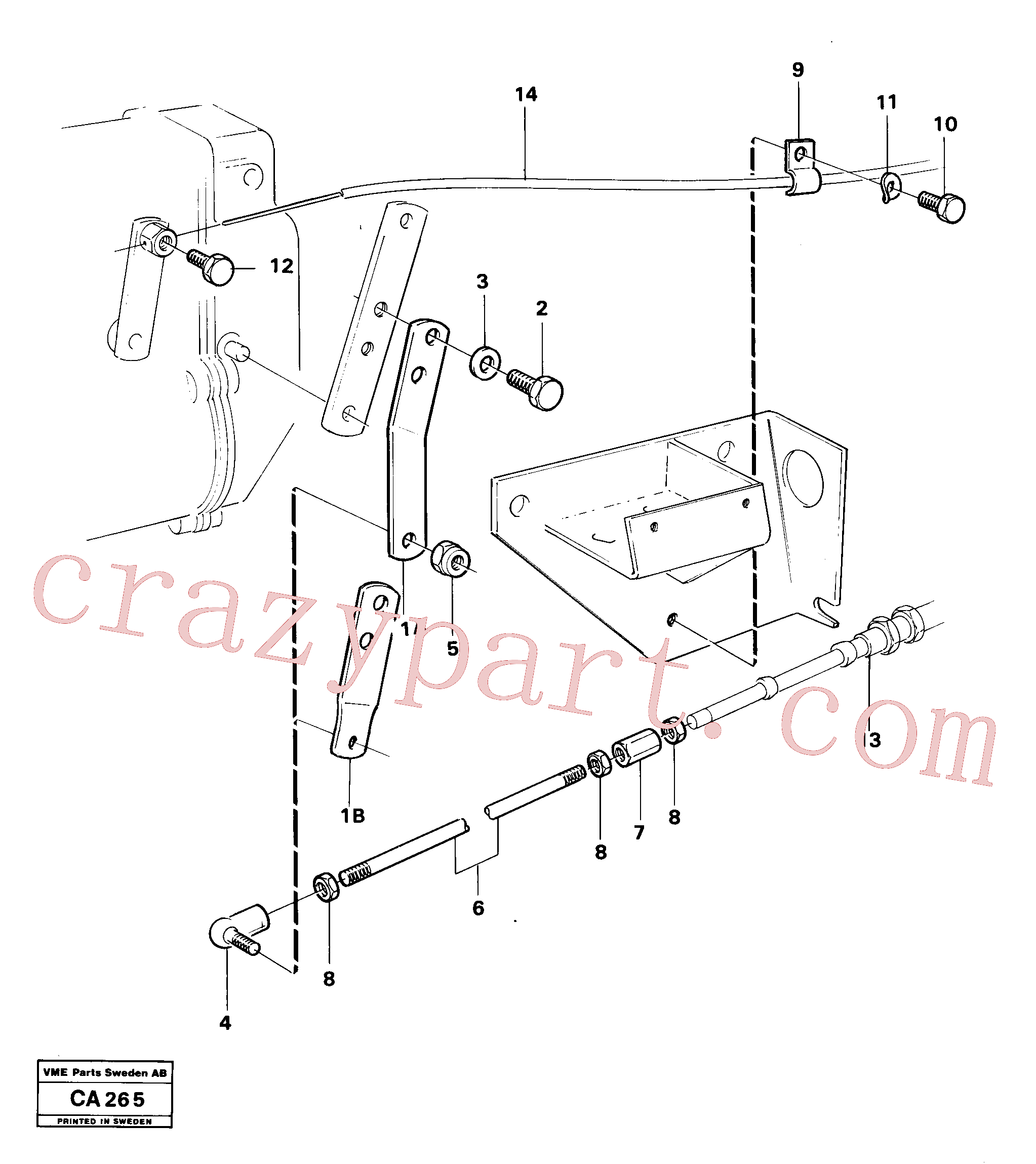 VOE959078 for Volvo Regulator control(CA265 assembly)