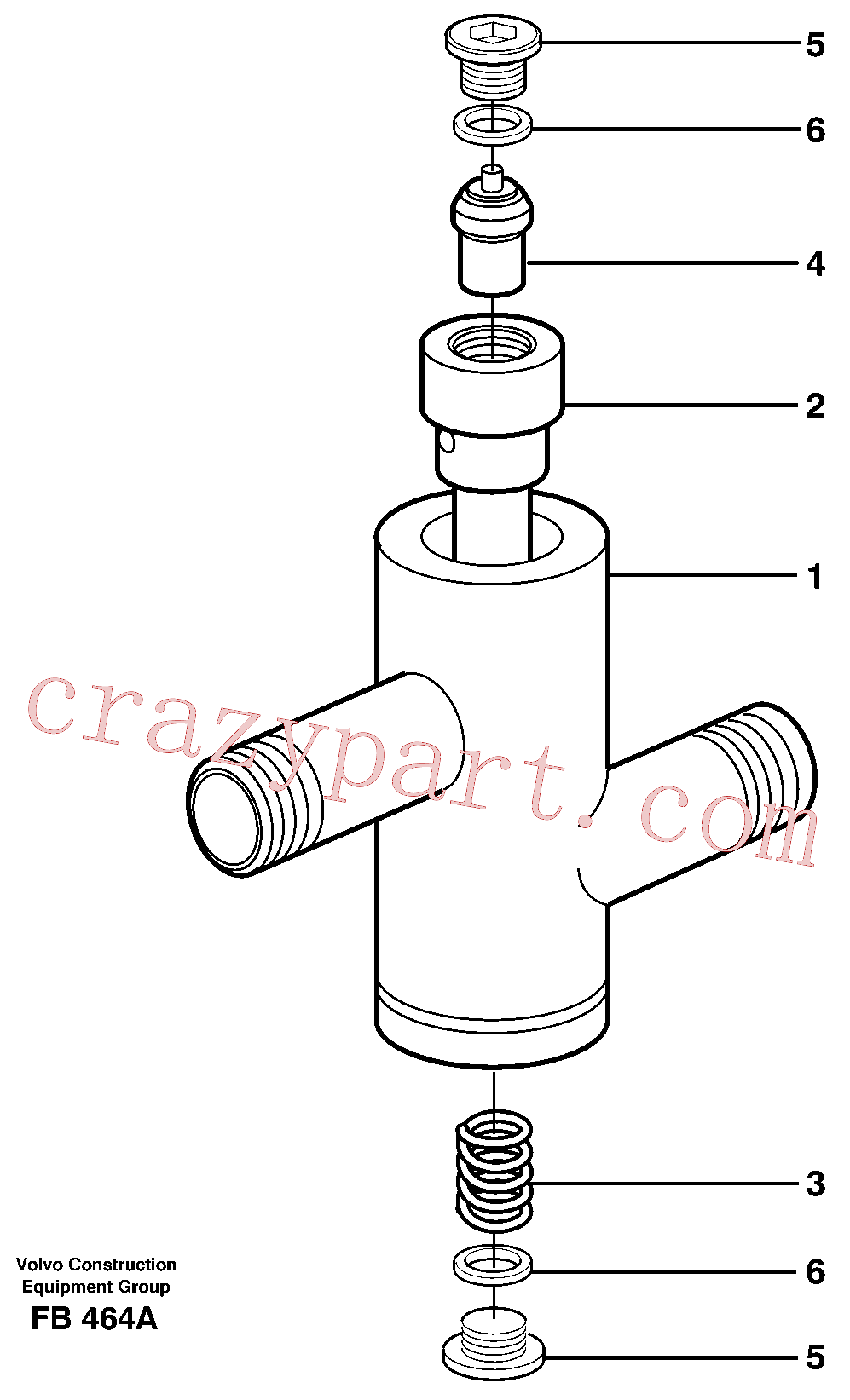 VOE14344088 for Volvo Thermostatic valve(FB464A assembly)