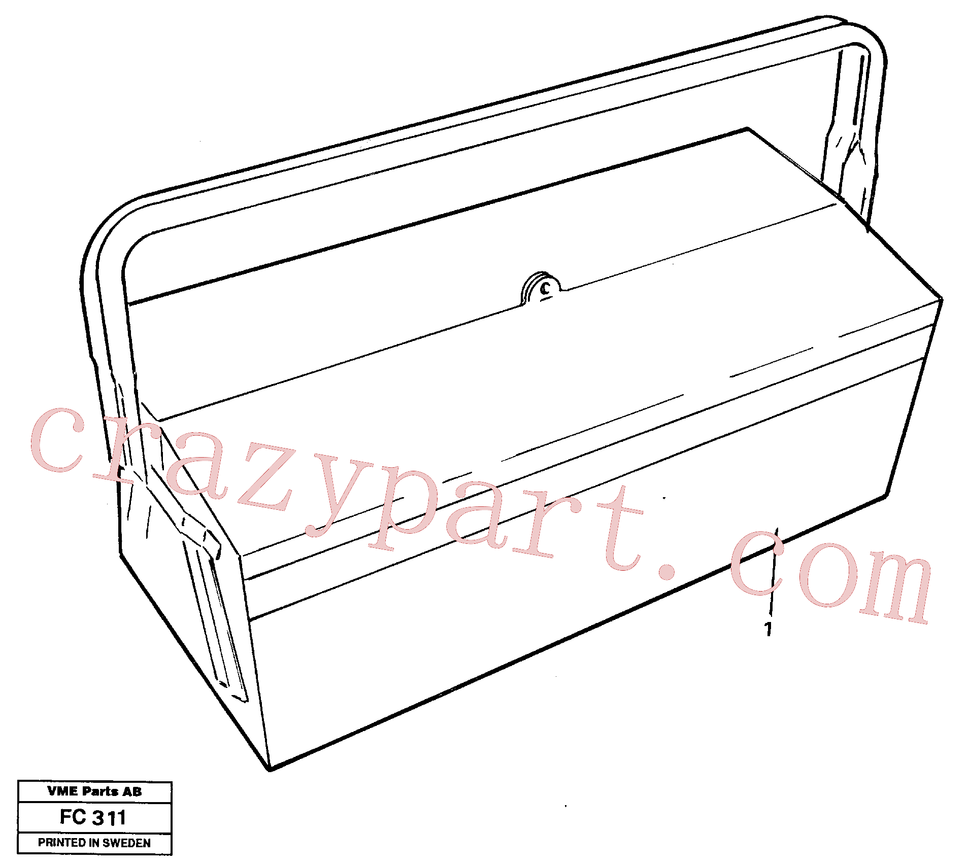 VOE14013364 for Volvo Tools(FC311 assembly)