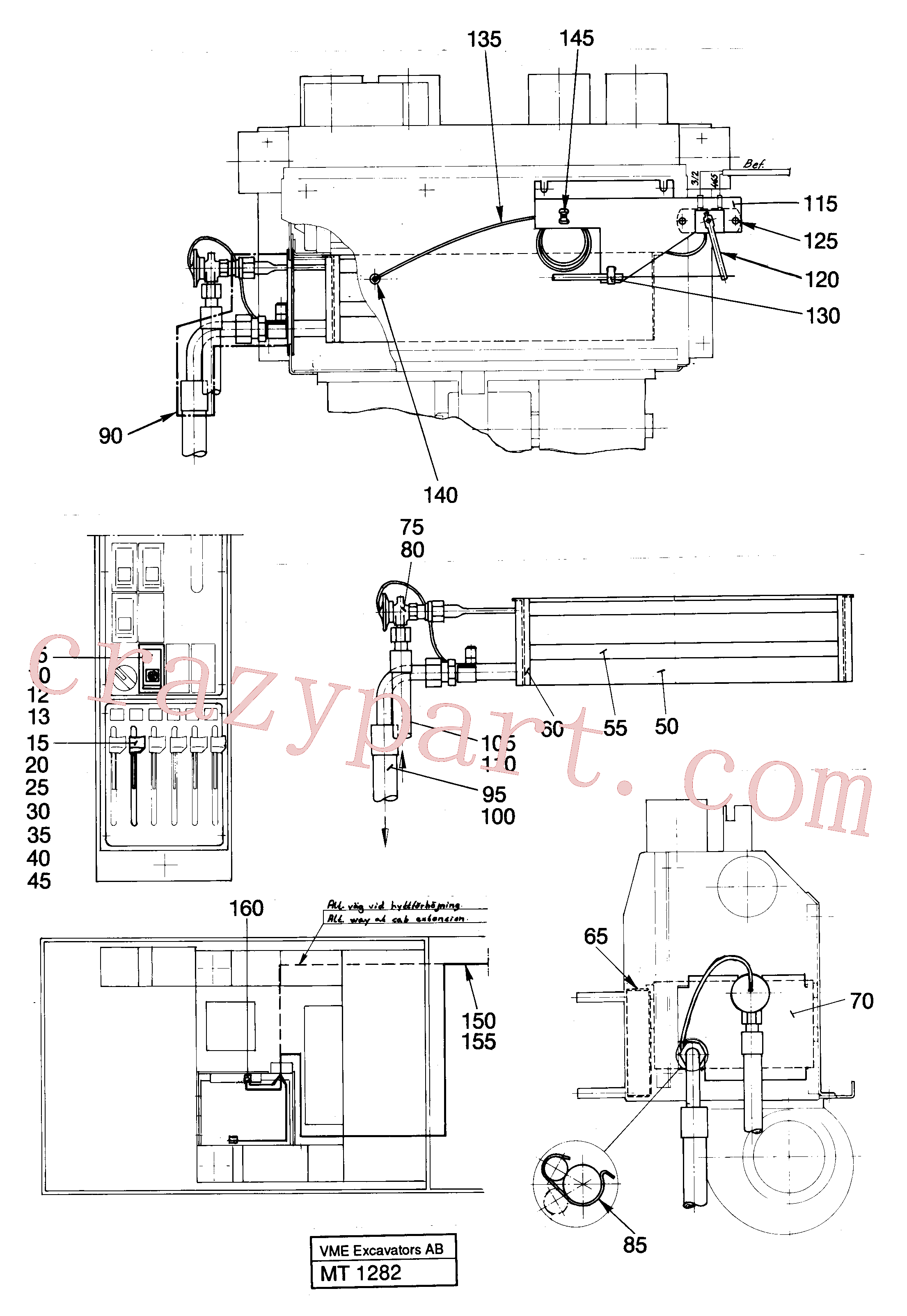 VOE14246695 for Volvo Air condition, Driver's seat(MT1282 assembly)