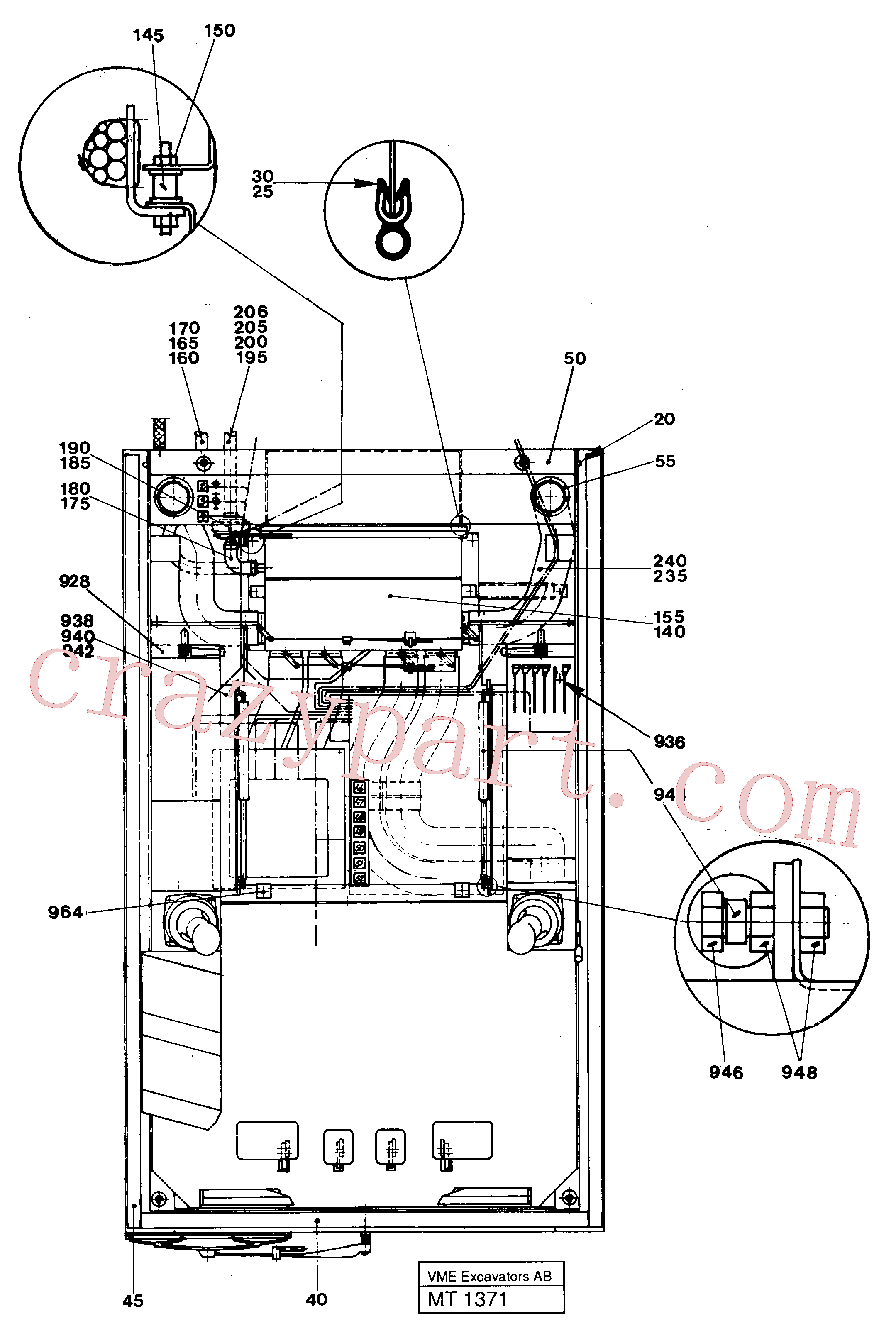 VOE14055046 for Volvo Driver's seat(MT1371 assembly)